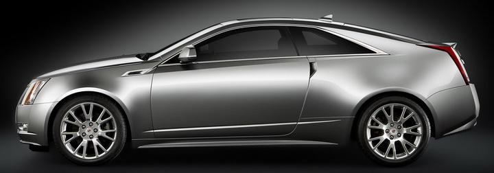 凯迪拉克cts coupe 上海车展首发在即